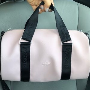 Light pink Lacoste bag